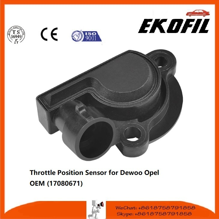 Auto Parts Throttle Position Sensor for Dewoo Opel (17080671)
