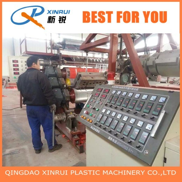 PVC Plastic Coin Mat Carpet Extruder Making Machinery