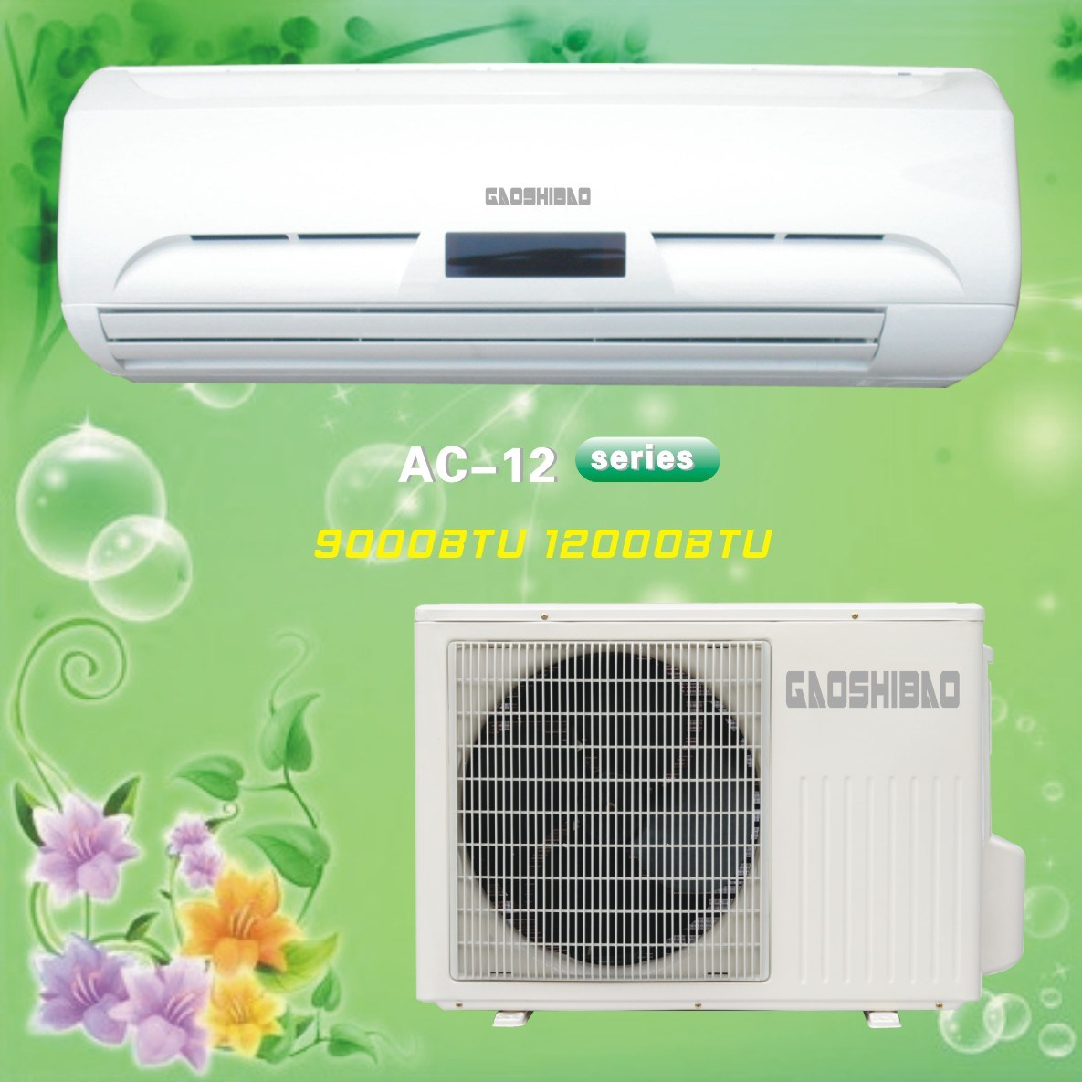 Split Type Air Conditioning Units New Brand Compressor Air Conditioner #B8AD13