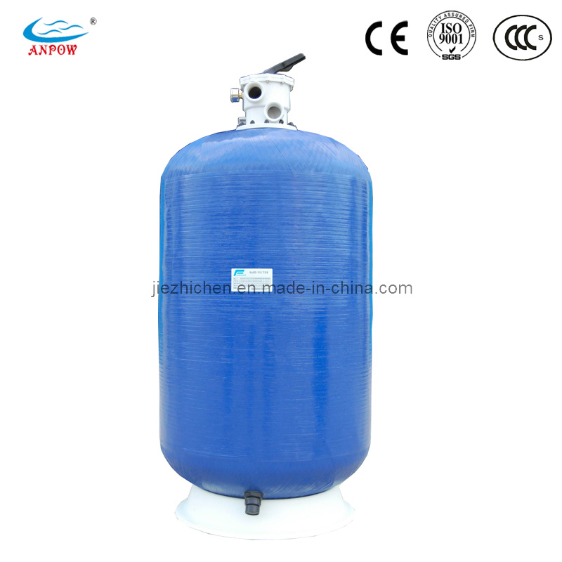 Fibre de verre depth sand filter pour swimming pool for Filtre piscine verre