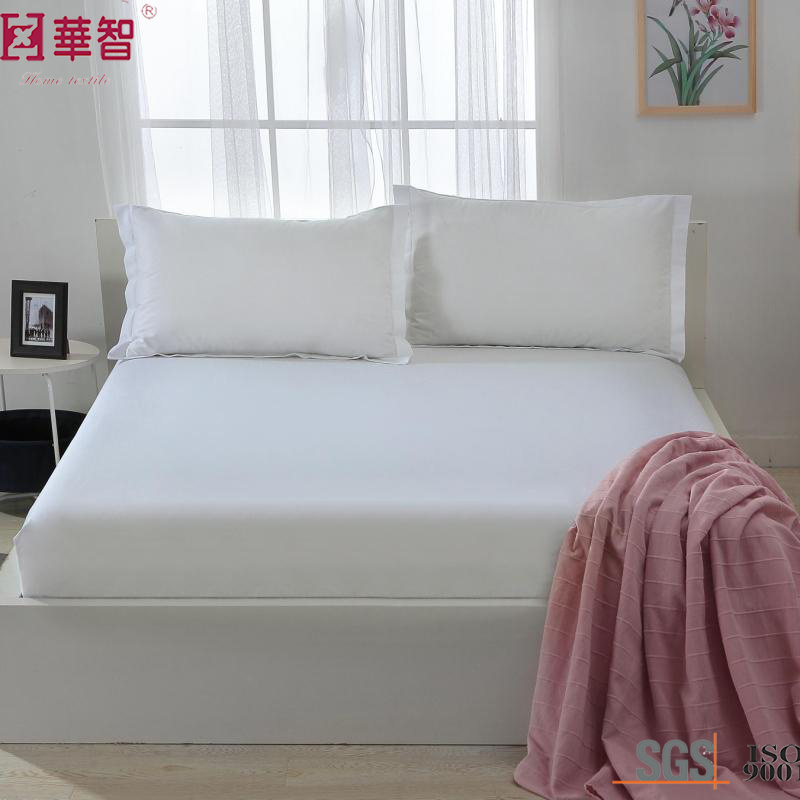 Polyester Solid High Depth Fitted Sheet Set