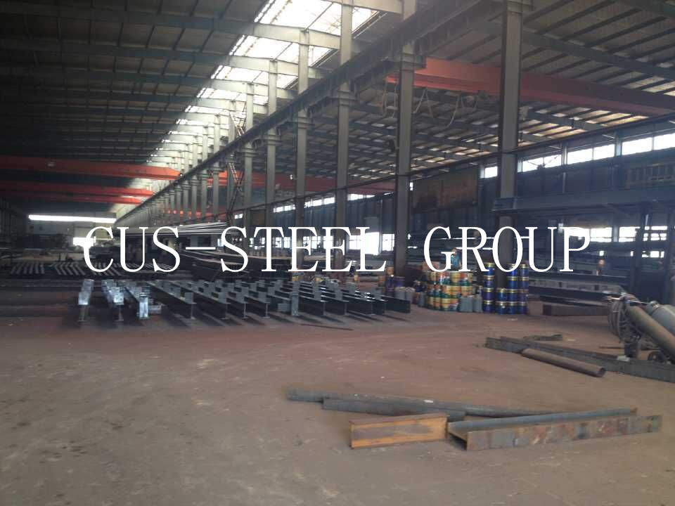 Cost Effective Prefab Steel Structure/Steel Frame Structure