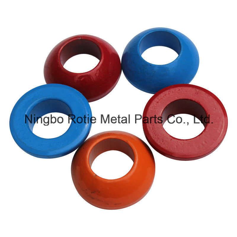 Round Shape Colourful Spherical Washer for Mining Cable
