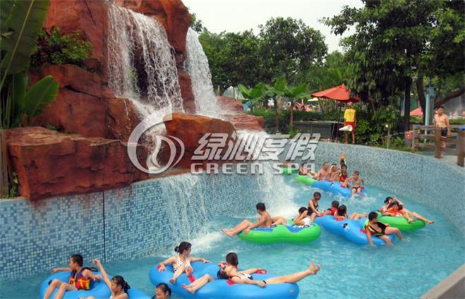 Outdoor Water Park Lazy River, Water Park Equipment