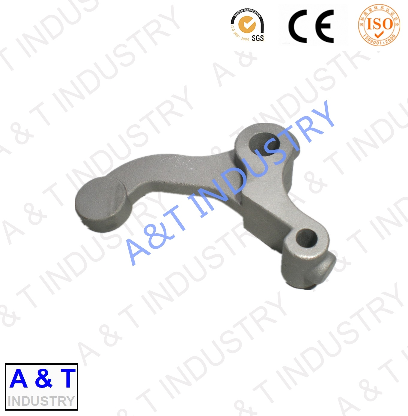Aluminum Forged Lace Warp Machinery Spare Part Tie Rod Textile Parts
