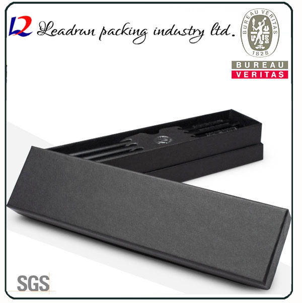 Wood Packaging Pencil Gift Pen Box Paper Display Plastic Pen Box Packing Box Display Box (YSD21)