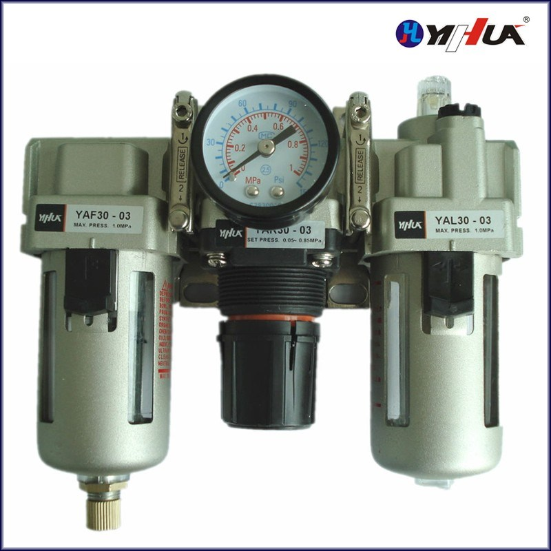 Three Point Filter Combination (Round Pressure Gauge)