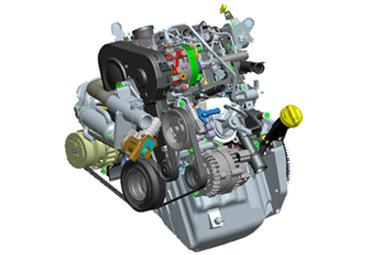 Light Truck Diesel Engine