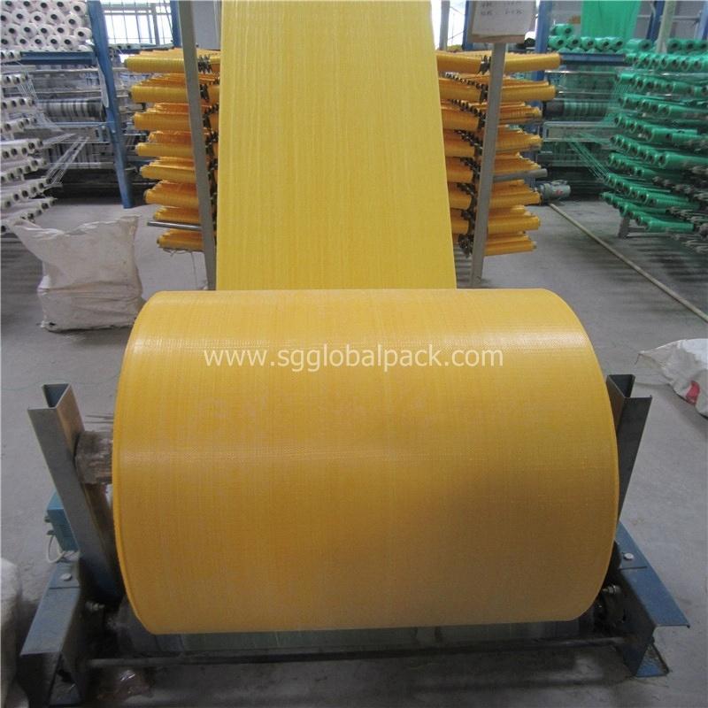 Plastic Polypropylene Woven Fabric Roll