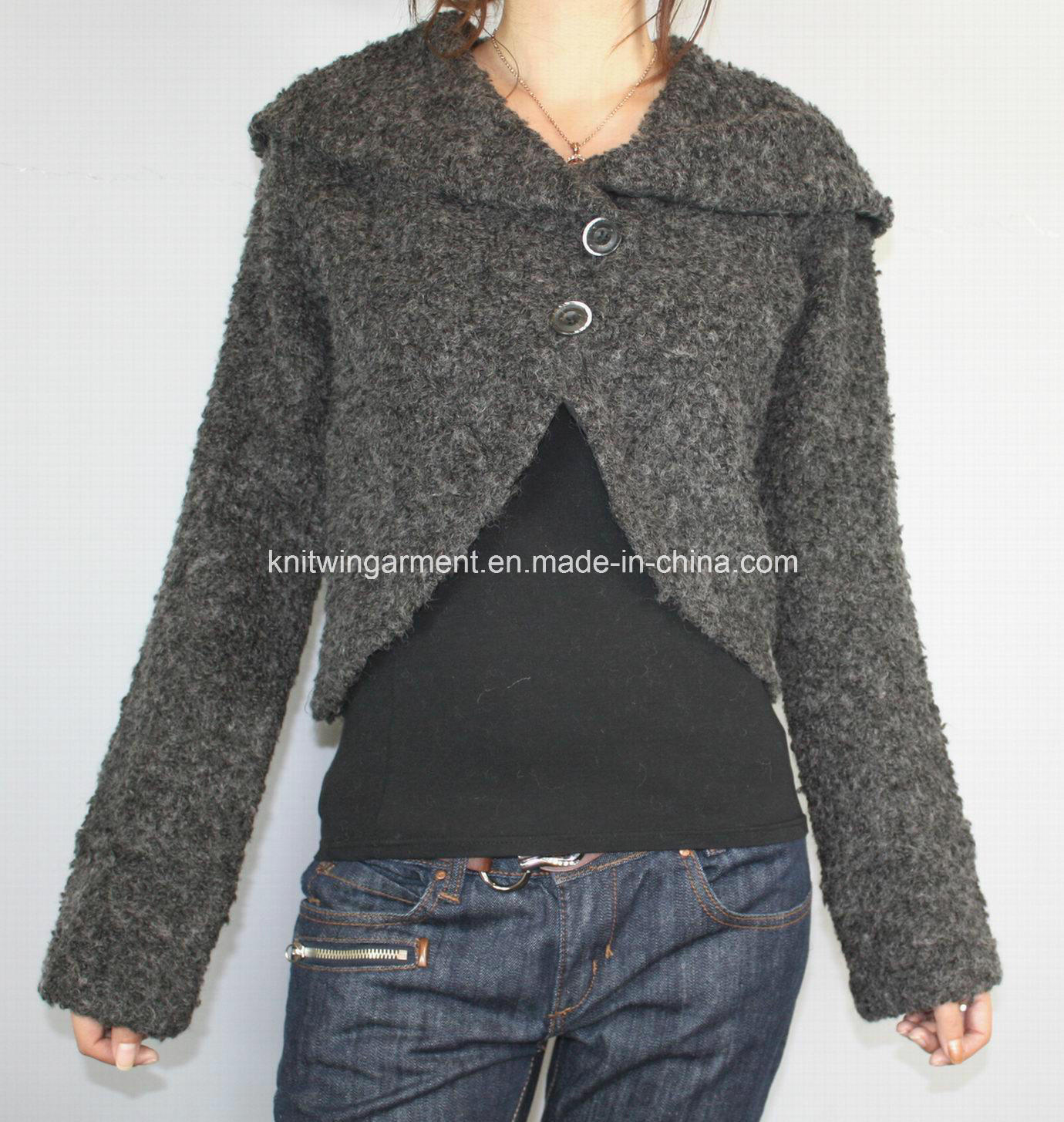 Ladies Long Sweater Coats - JacketIn