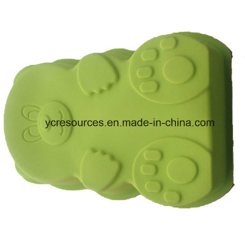 Bear Design Silicone Cake of Mould (HA36015)