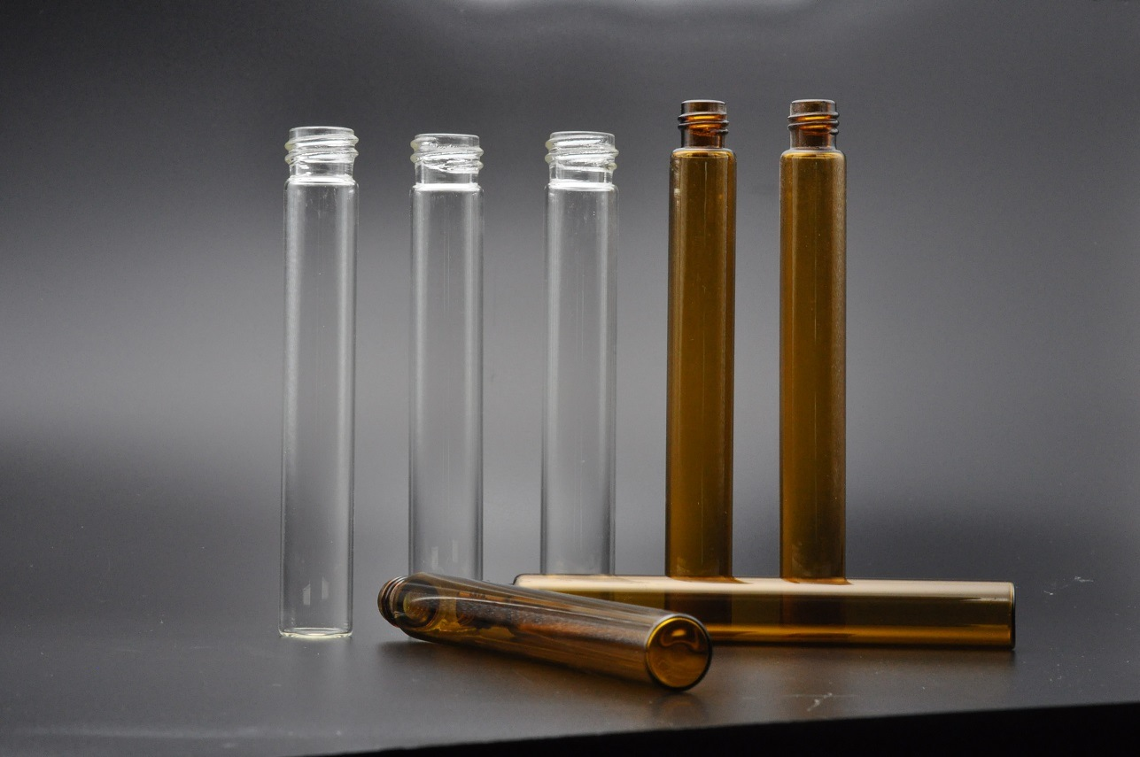 10ml Glass Culture Test Tubes for Lab Use