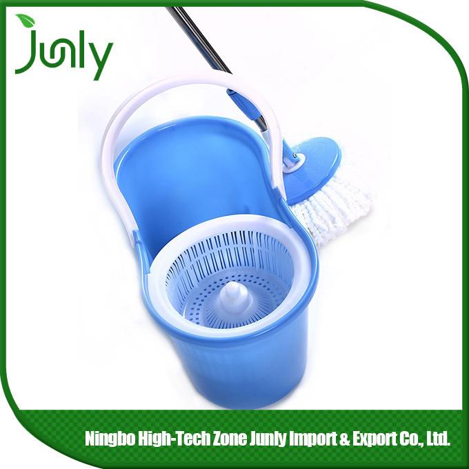 Double Bucket 360 Spin Floor Microfiber Magic Mop