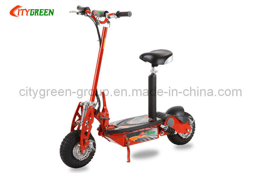 electric scooter green 01 500 watt photos pictures. Black Bedroom Furniture Sets. Home Design Ideas