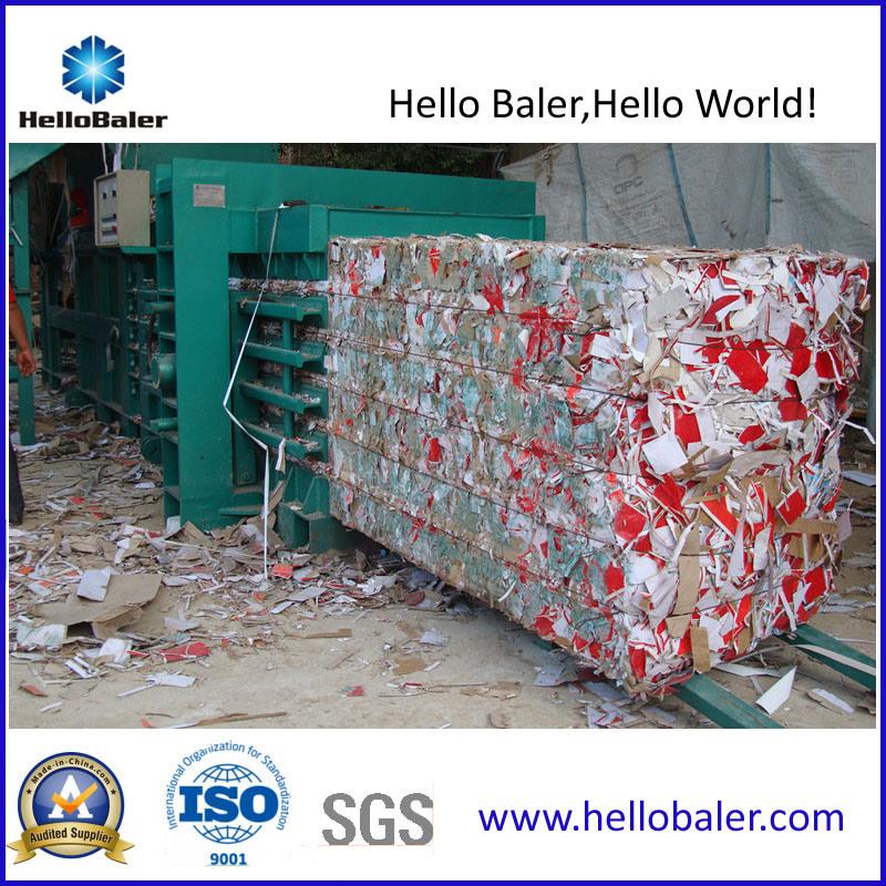 Horizontal Hydraulic Semi-Automatic Waste Paper Baler (HSA4-6)