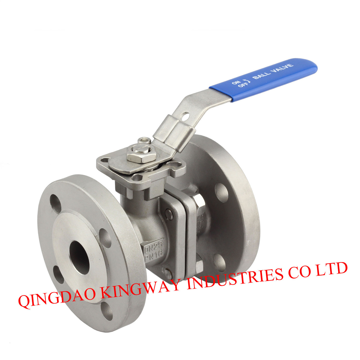 2-PC Flanged Ball Valve (BF-AF)