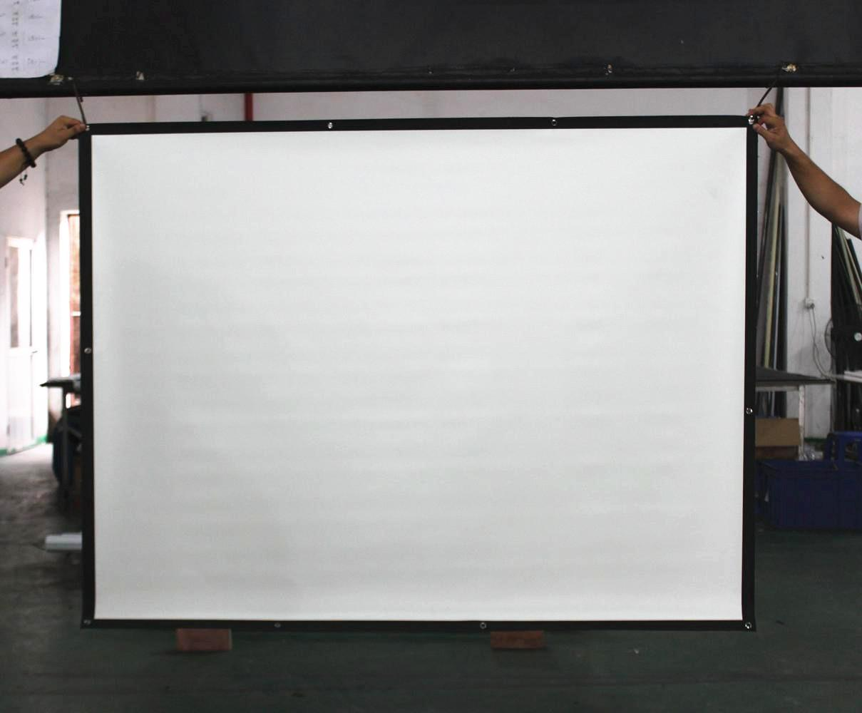 China Foldable Easy Projection Screen Easy Fold Screen