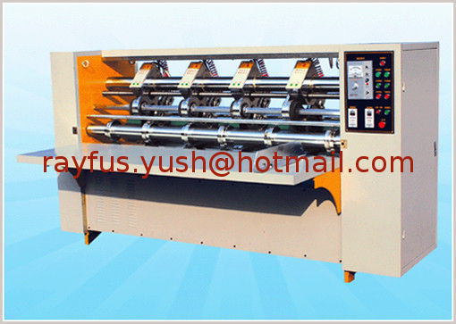 Slitting Creasing Machine for Corrugated Cardboard