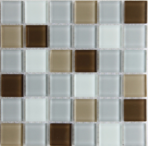 Azulejos de mosaico del vidrio cristalino azulejos de - Azulejos de cristal ...