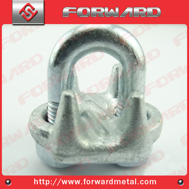 Us Type Drop Forged Wire Rope Clip Steel Cable Clamp