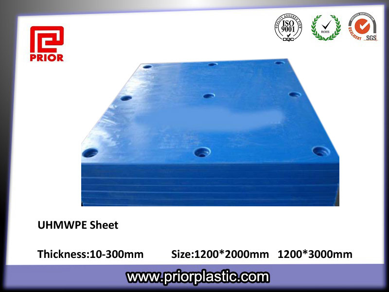 Yellow UHMWPE Plate for Dock Fender