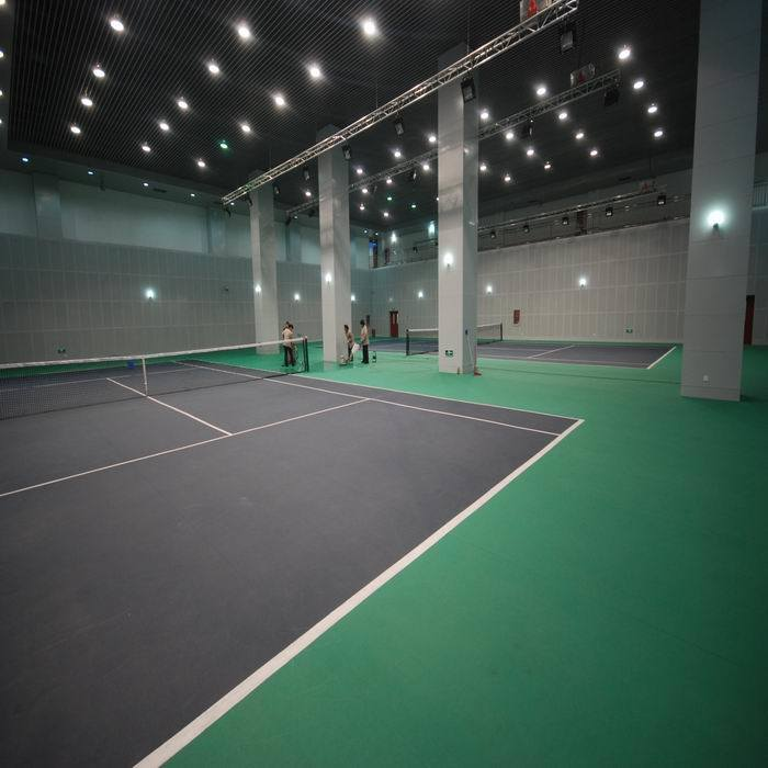 Indoor PVC Sports Flooring for Tennis Court