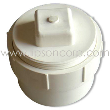 China pvc pipe fittings pvc floor drain trap drain clean for Floor clean out