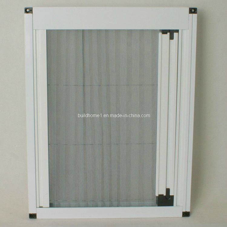 Pleated Retractable Window Insect Screen