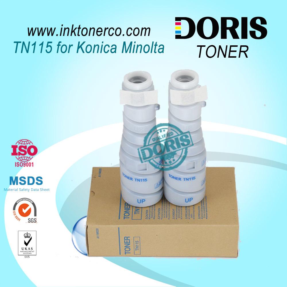 Tn115 Copier Toner Powder for Konica Minolta Bizhub 163V 7616V