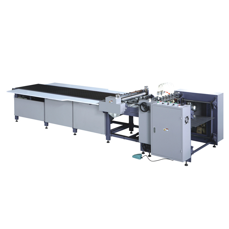 Sheet Gluing Machine with Feeder