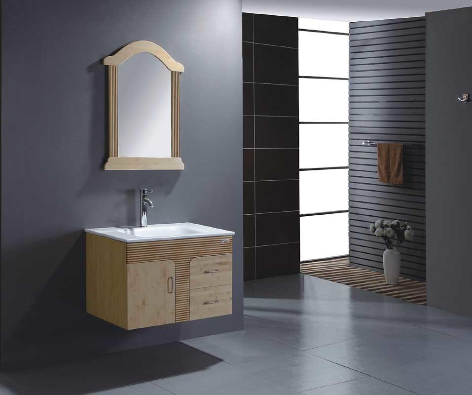 Bamboo Bathroom Cabinet Bathroom Vanity Bathroom