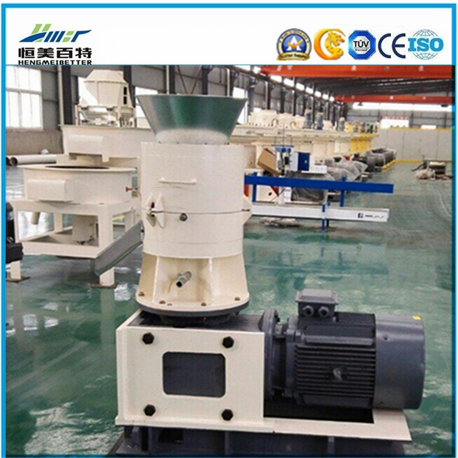 Hmbt Professional Design Flat Die Pellets Machine