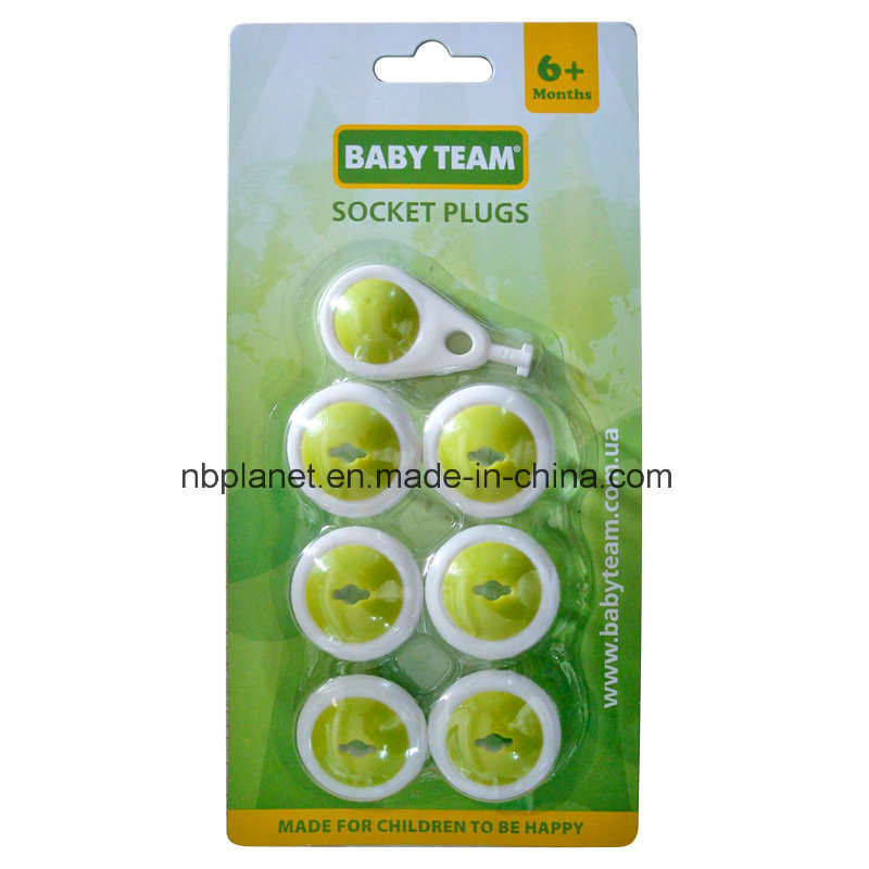 7PC Socket Plugs Pack for Baby Safety