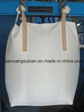 PP Jumbo Bag/PP Big Bag/Ton Bag (for sand, building material, chemical, fertilizer, flour, sugar etc)
