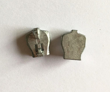 Metal Slider Italian Style Head for Metal Zipper