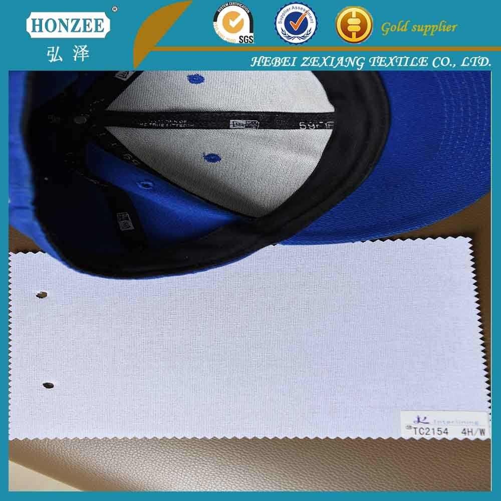 China Supplier Woven Cap Interlining