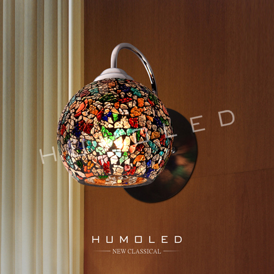 China Global multi color glass wall lighting (W1267) Photos & Pictures - Made-in-china.com