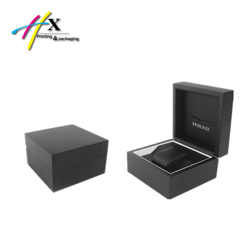 Wooden Watch Jewelry Box with Packet
