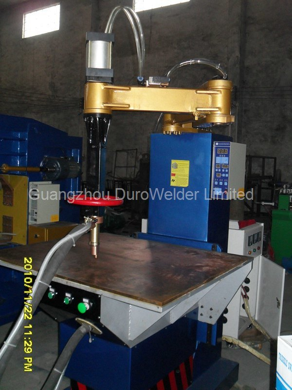Automatic Operating Platform Spot Welding Machine