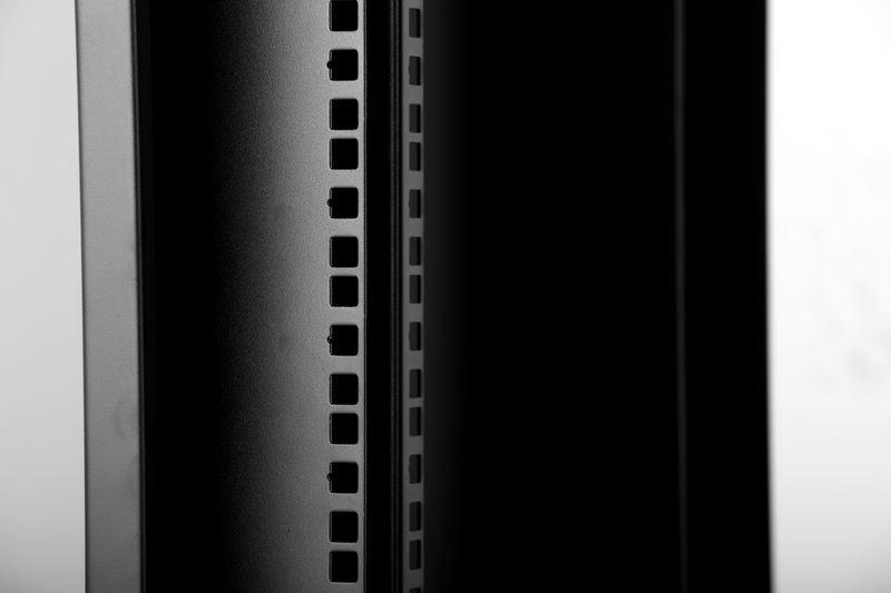 Glt-Qd Wall Mounted Cabinet Front Glass Door Black Black Colour