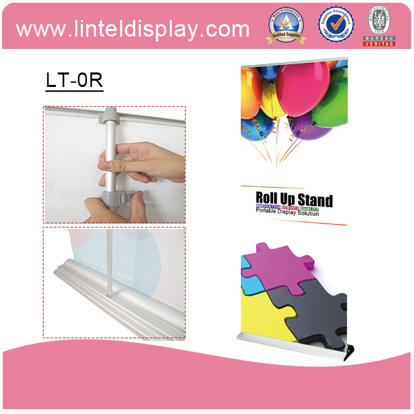 Portable Pull up Banner Aluminum Roll up (LT-0R)