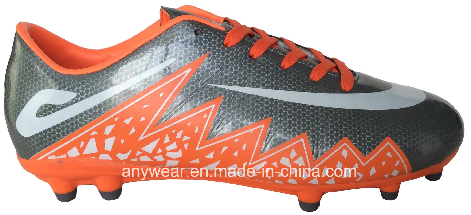 Men′s Soccer Football Boots with TPU Outsole Shoes (815-2647)