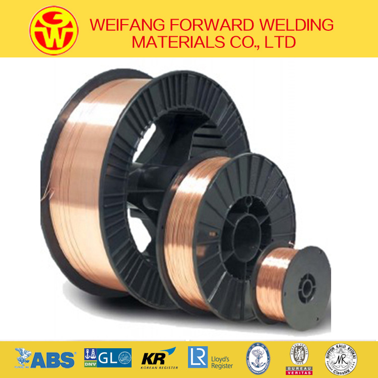 0.9mm Er70s-6 CO2 Gas Shielded Welding Wire From Golden Bridge Manufacturer ISO9001