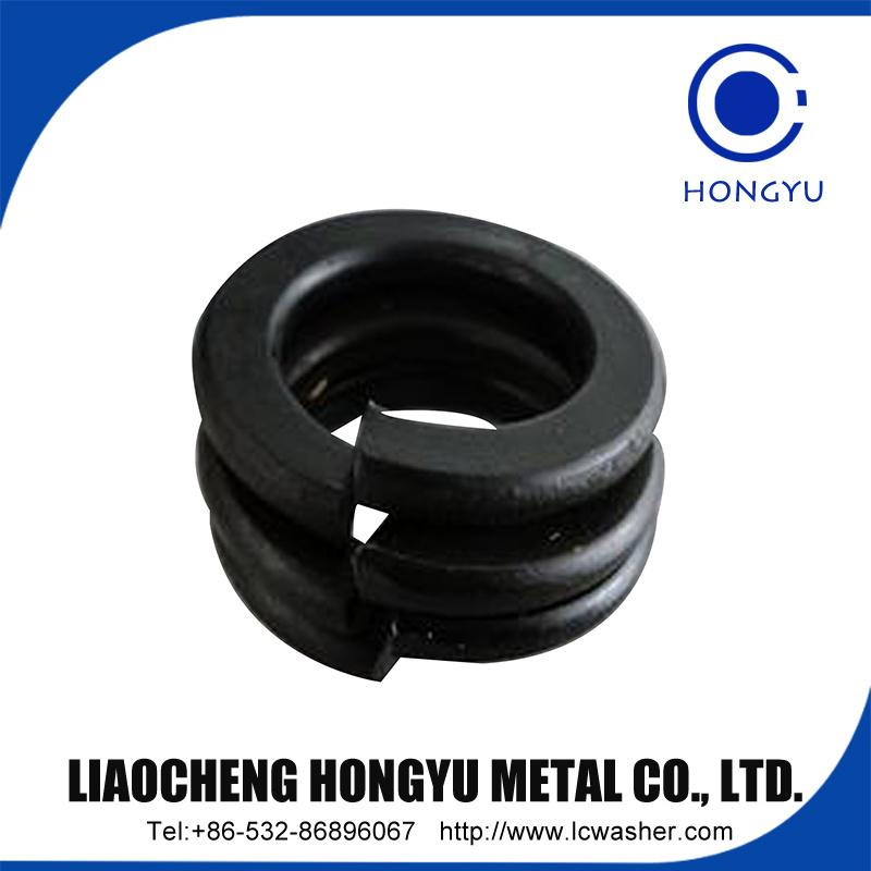 Spring Lock Washer Black Surface DIN 127b