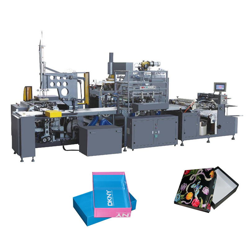 Rigid Box Wrapping System (Passed CE)