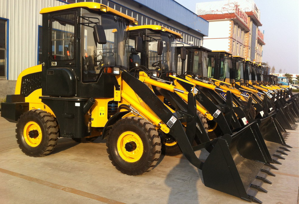 1200kg, 0.6m3 Bucket Capacity Front Loaders Low Price on Sale