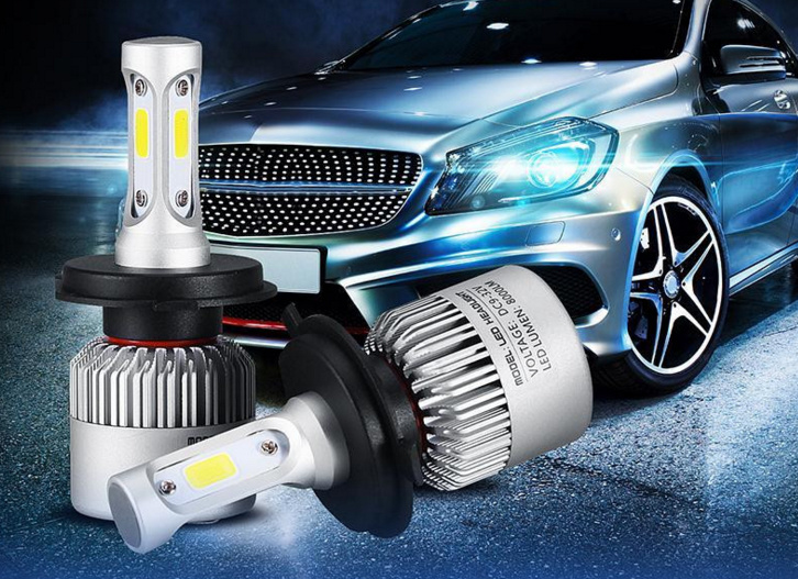 Car LED Headlight H4