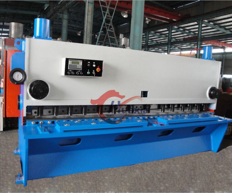 China Guillotine Shearing Machine to Cut Metal, Guillotine Shearing Machine for Metal Machining