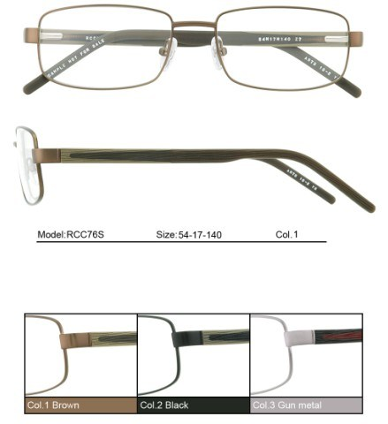 Eyeglass Frame Websites : china men eyeglasses metal frames s 9016 large image for ...