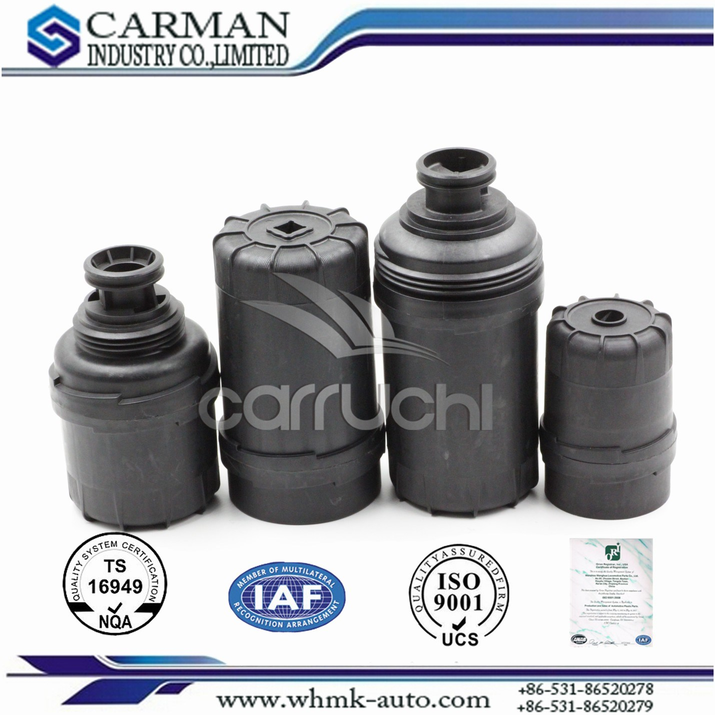 Oil Filter for Cummins Engine, Filters for Construction Machinery, Oil Filter, Auto Parts, Hydraulic Oil Filter
